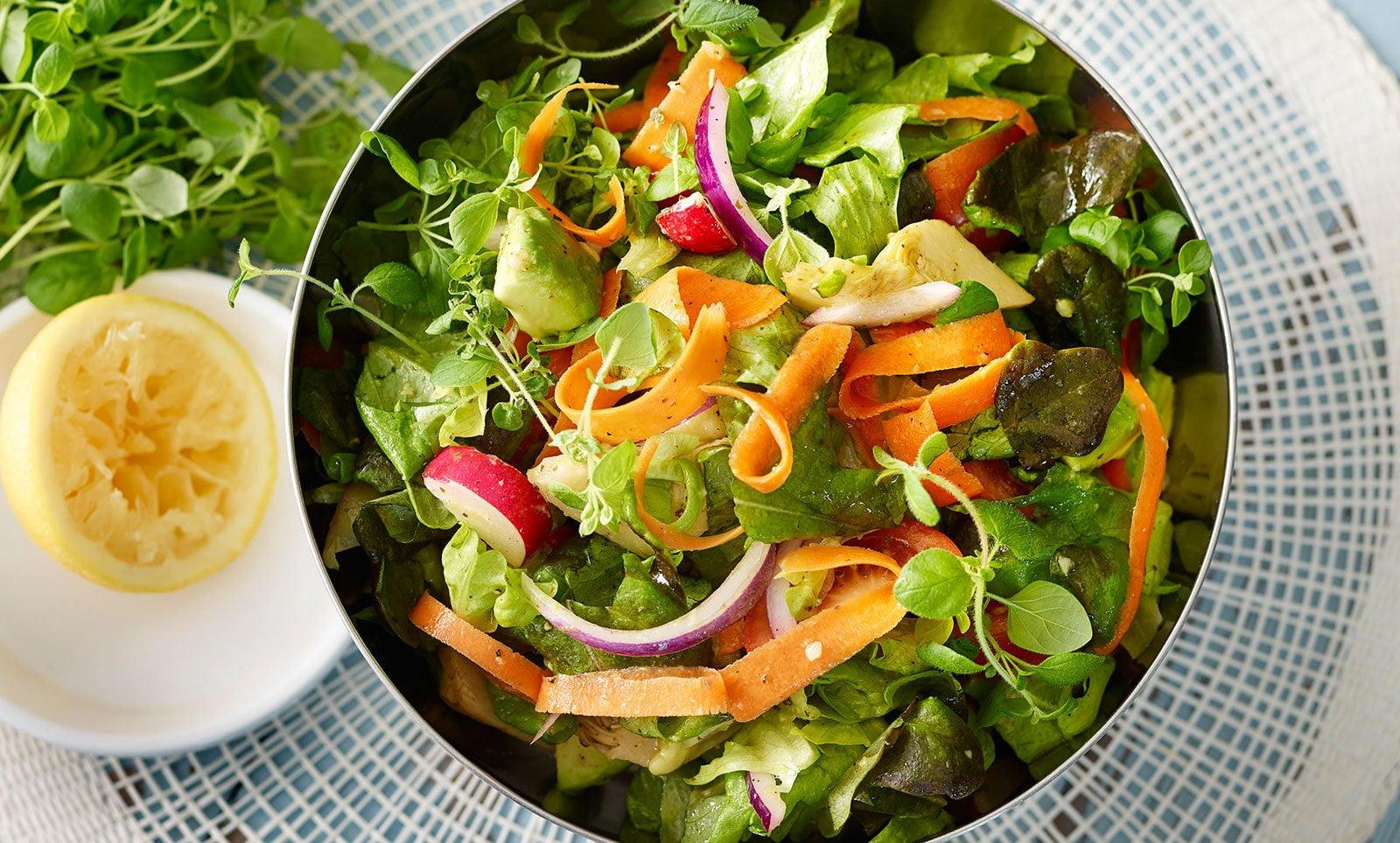 Itämainen Salaatti