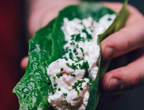 Skagen-salaattitaco